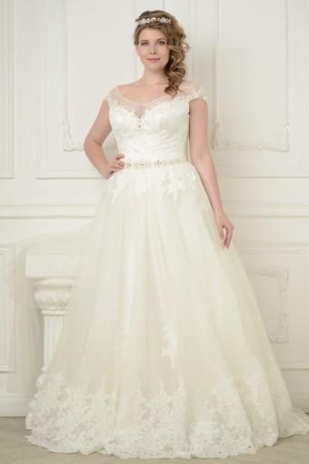 3ab4539b122 Свадебные платья больших размеров для полных девушек