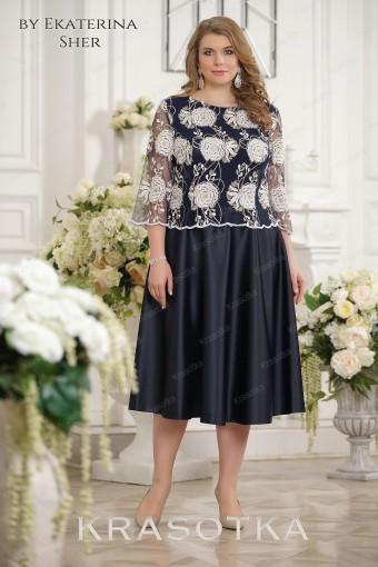 9450e40742c Вечерние платья больших размеров для полных женщин в салоне ...