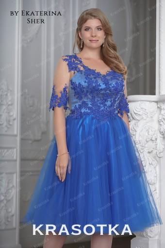 ffddb490811 Вечерние платья больших размеров для полных женщин в салоне «Красотка»